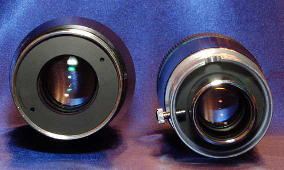 Field or Smyth lenses of the eyepieces