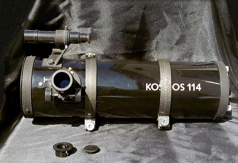 Kosmos 114 bresser pluto